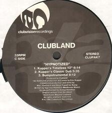 CLUBLAND - Hypnotized - 1992 - Clubvision - CLUPAK7 - Eur