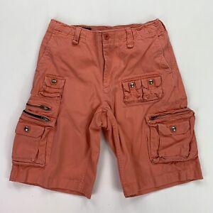 Vintage Polo Ralph Lauren (31) Salmon Heavy Duty Twill Cargo Shorts