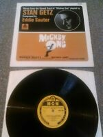 MICKEY ONE O.S.T LP STAN GETZ / EDDIE SAUTER UK MONO 1ST PRESS MGM 8001