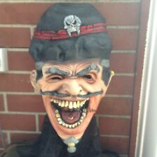 "Halloween/Horror ""Ringmaster"" Full Overhead Latex Mask - One Size Fits Most"