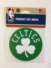 "Boston Celtics 4"" x 4"" Logo Truck Car Auto Window Die Cut Decal Color New NBA"