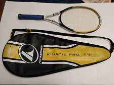 New listing ProKennex Kinetic Pro 5G tennis racquet with matching bag
