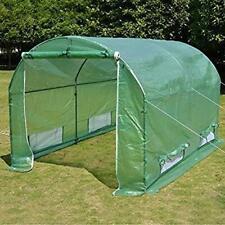 BenefitUSA 10'x7'x6' Walk in Outdoor Canopy Gazebo Plant Gardening (Frame Does N