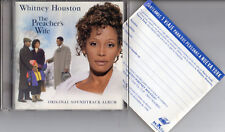 "WHITNEY HOUSTON ""THE PREACHER'S WIFE O.S.T."" CD + RARE SPANISH CONTEST COUPON"