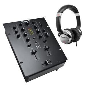 Numark Professional M2 2-Channel Scratch Mixer + HF125 Professional DJ Headphone