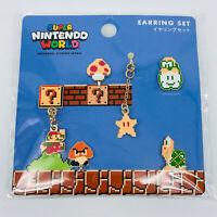 Super Mario Bros Earring Set Nintendo World UNIVERSAL STUDIOS JAPAN 2020 Goomba