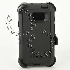 Otterbox Defender Case w/Holster Belt Clip For Samsung Galaxy S7 Active BLACK