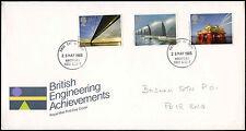 Gb Fdc 1983 La ingeniería británica logros, Chichester Ide #c 28157
