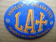 Petite glace publicitaire papiers a cigarettes LACROIX papiers des vrais fumeurs