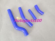 For YAMAHA WR450 radiator Blue silicone hose 2003-2009 03 04 05 06 07 08 09