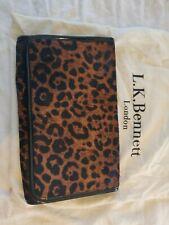 L.K.Bennett Leopard Print Clutch Bag