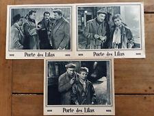 3 Photos Exploitation PORTE DES LILAS René CLAIR Georges BRASSENS Dany CARREL