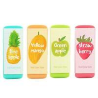 Creative Fruit Color Oversized Eraser Correction Eraser New Random Color L3P3