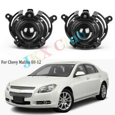 Front Bumper Clear Lens Fog Lamp Light For Chevy Malibu Cadillac CTS 2008-2012