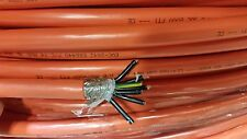 50 Ft  ORANGE TRAY CABLE 14/7 CONDUCTOR SHIELDED CONTROL CABLE