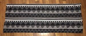 Black White Designs On BODY PILLOW zip Pillowcase of Polyester American Textile