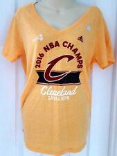 a5ab42dde8d5 CLEVELAND CAVALIERS Womens T Shirt Size XL Adidas 2016 NBA Champions Soft  New