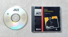 "CD AUDIO MUSIQUE INT / ELLA FITZGERALD ""THE BEST YEARS"" CD  COMPILATION 16T 1989"