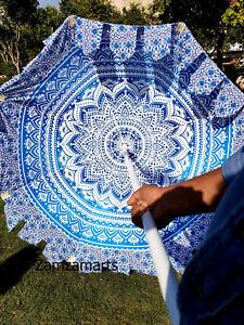 New Indian Handmade Garden Umbrella Patio Outdoor Decor Beach Sun Shade Umbrella