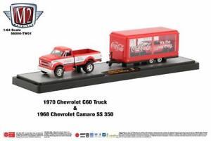 M2 Coca Cola Hauler TW01 '70 Chevy C60 & '68 Chevy Camaro SS350