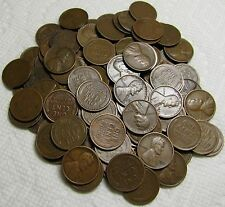 2 ROLLS OF 1928 D DENVER LINCOLN WHEAT CENTS FROM PENNY COLLECTION