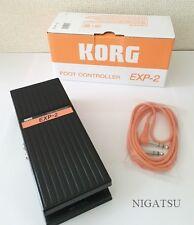 NEU Korg EXP-2 Expression Volumen Pedal aus Japan