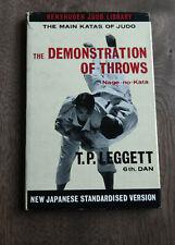 The DEMONSTRATION of THROWS Nage no Kata T.P.LEGGETT 6th Dan & press clippings