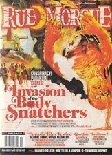 RUE MORGUE MAGAZINE #137 SEPTEMBER 2013 INVASION OF BODYSNATCHERS