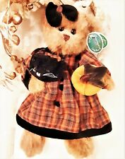 New Bearington Collection Halloween Trick or Treat Bear / Black Cat Style #1800