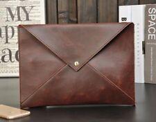 Men Leather Bag Leather  Business Briefcase Men's Shoulder Messenger Bags
