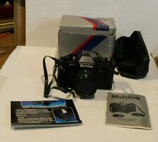NISHIKA MF-3 35MM CAMERA WITH BOX AND MANUAL
