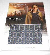 Mortal Instruments City of Bones Costume Trading Card #W-RSI Robert Sheehan