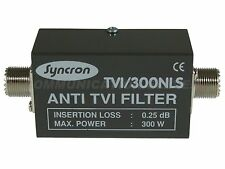 Euro CB / Syncron TVI/300NLS (F27) Low Pass Filter, 300w, 0.25db insertion loss