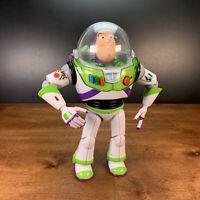 "Thinkway Disney Pixar Toy Story Talking Buzz Lightyear Figure 12"" #T82203"