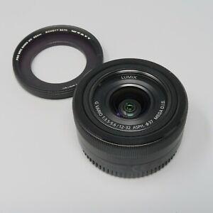 Panasonic Lumix G Vario 12-32mm f/3.5-5.6 Aspherical Mega O.I.S Lens