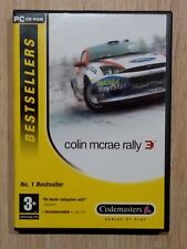 "JUEGO PARA PC ""COLLIN MCRAE RALLY 3"" 4 X CD-ROM BESTSELLERS CODEMASTERS"