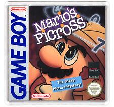 MARIO'S PICROSS NINTENDO GAME BOY FRIDGE MAGNET IMAN NEVERA