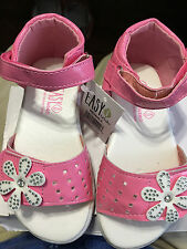 New Toddler Sandals, size 4 ( for 9-12 Mo. old) , Hot Pink