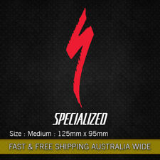 Specialized with Logo vinyl sticker decal Bicycle Moutain Bike Cycling