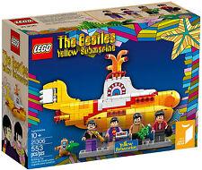 LEGO IDEAS - THE BEATLES YELLOW SUBMARINE SET 21305 - NEW IN BOX