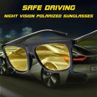 Aluminium Driving Glasses HD Sunglasses Night Vision Polarized Anti Glare Lens