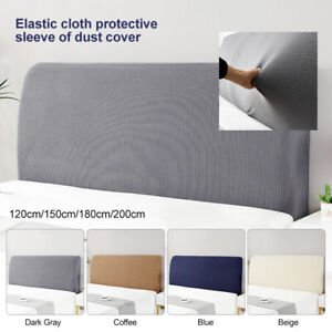 Bed Headboard Slipcover Protector Stretch Dustproof Cover for Bedroom Bed Decor