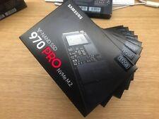 BNIB SSD SAMSUNG PRO 970 512GB M.2 NVMe 5 YEAR WARRANTY FREE INSURED DELIVERY!
