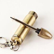 Emergency Fire Starter Flint Match Lighter Survival Hiking Camping Metal Bullet