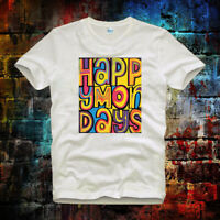 Happy Mondays Indie Dance Madchester Rave Bez Ryder Unisex Ladies T Shirt  b254