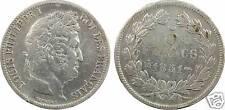 Louis-Philippe I, 5 francs Domard 1er type, 1831 BB = Strasbourg argent - 45