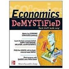 Economics Demystified  VeryGood