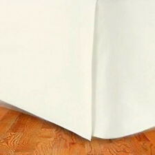 Marrikas 300Tc Egyptian Cotton Bed Skirt Queen Solid Ivory