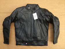 """AKITO ' X FORCE' Mens Leather Motorbike Motorcycle Jacket UK 36"""" Chest  L2"""