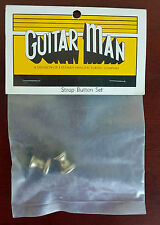 Vintage Brass Strap Buttons in Original Package Santee CA Made in USA
